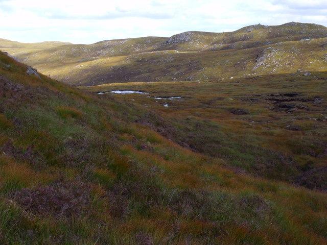 Lochan below Creag a' Chorre Dhuibh near Glen Cannich, Inverness