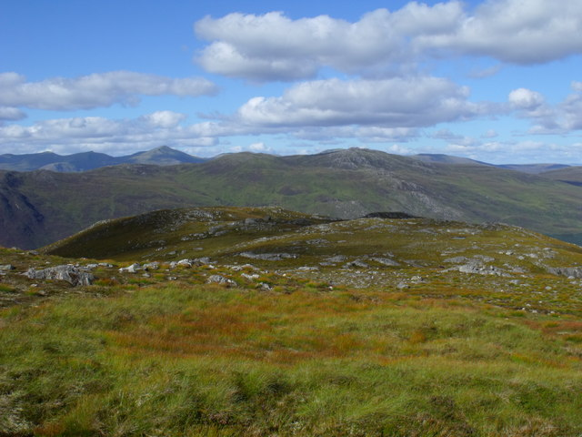 Top of Creag a' Chorre Dhuibh above Glen Cannich, Inverness