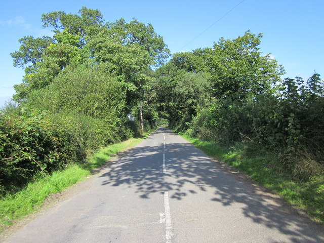 Dark Lane near Tattenhall
