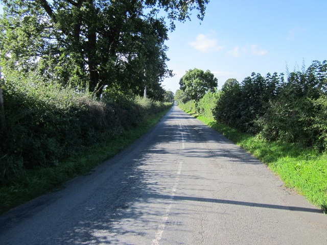Bolesworth Road near Tattenhall