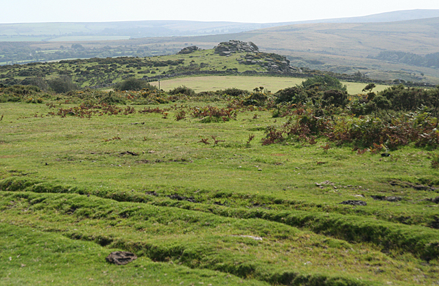 Widecombe in the Moor: towards Mel Tor