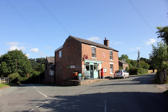 Burwardsley Post Office