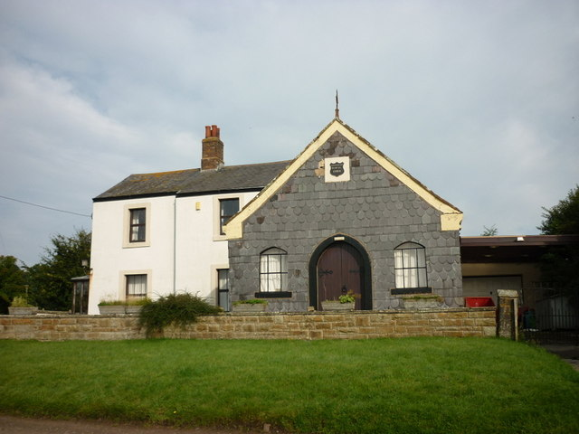 The former chapel at Anthorn