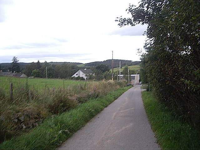 Bogenchapel Road at Sundayswells