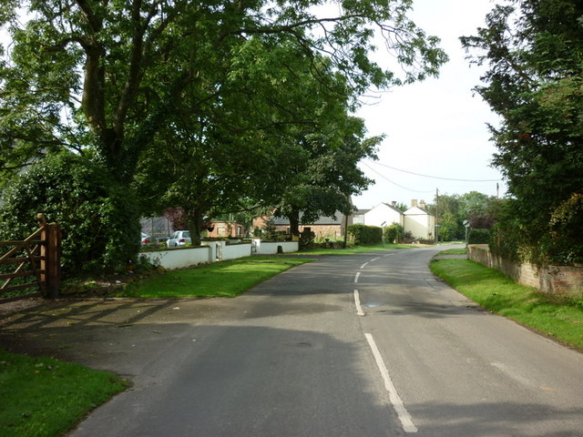 The village of Angerton