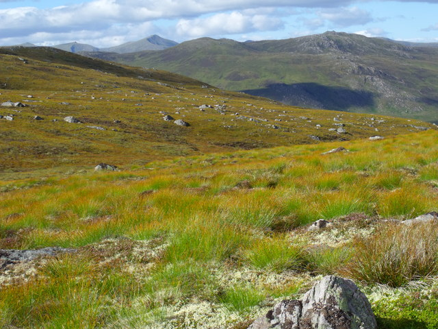 Head of Allt a' Choire Dhuibh above Glen Cannich, Inverness