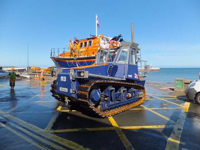 M3 lifeboat tractor