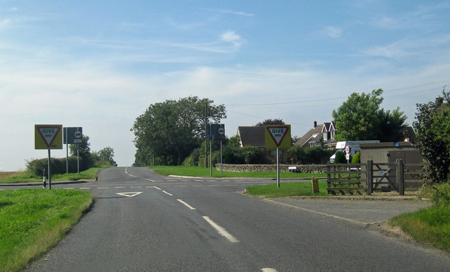 Crossroads near Ingham