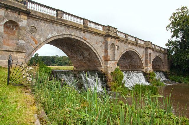 Boathouse Bridge - Kedleston Hall