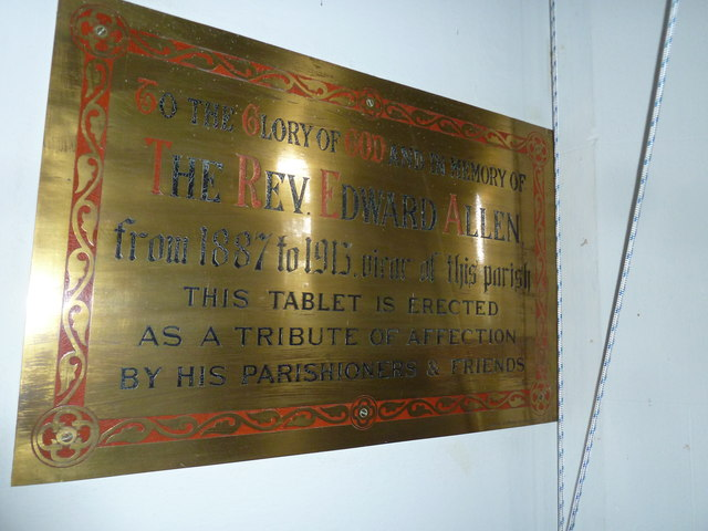 Holy Trinity, Newtown: memorial (5)