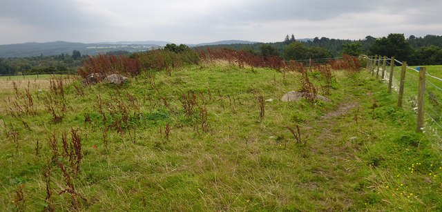 Remains of Boblainy chambered cairn