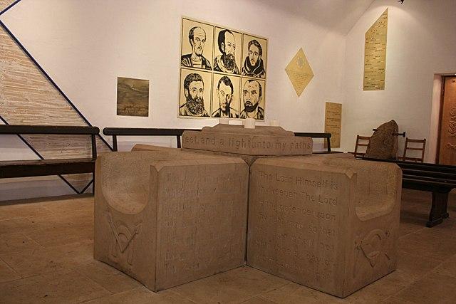 Stone Armchairs