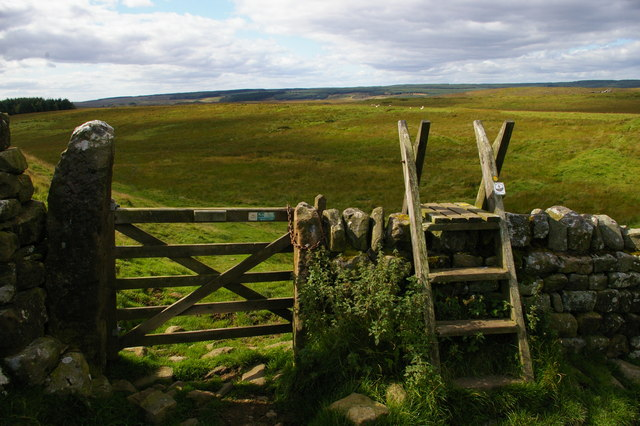 King's Wicket: gate through Hadrian's Wall