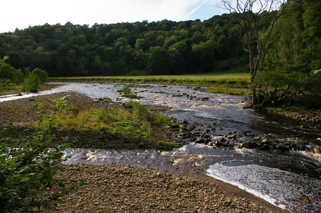 River Allen below Staward Peel