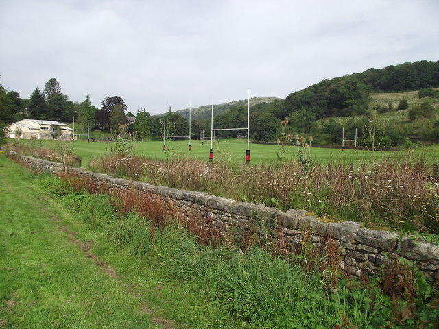 Rugby pitches in Giggleswick