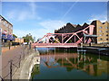 TQ3580 : Shadwell, bascule bridge by Mike Faherty