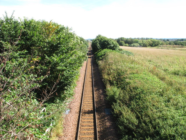 Railway Line to Elgin Station