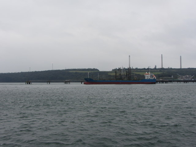 Bro Granite at Milford Haven