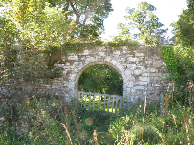 Gateway in the Eastern Wall of Pluscarden Abbey