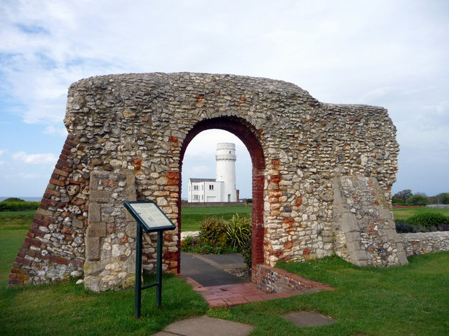 Remains of St Edmund's Chapel, Hunstanton, Norfolk