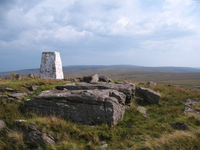 Trig point on High Greygrits