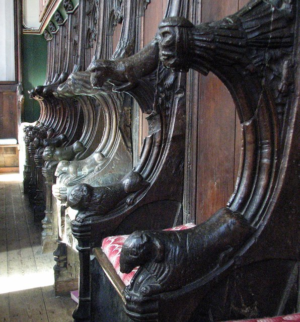 Balsham: Holy Trinity - choir stalls