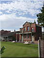 SK7953 : Newark Town Bowls Club  by Alan Murray-Rust