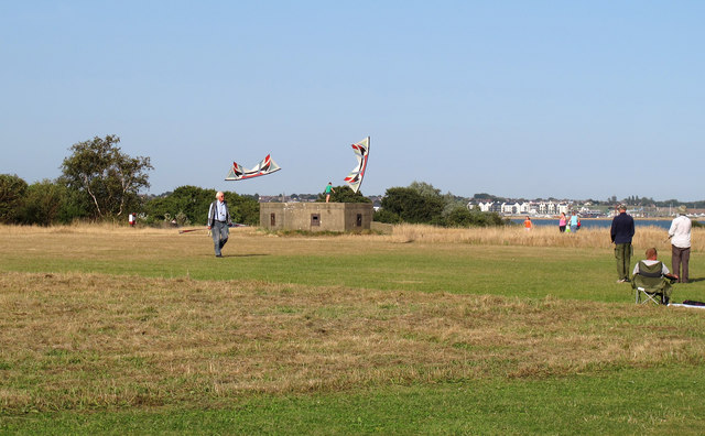 Kites above the pillbox