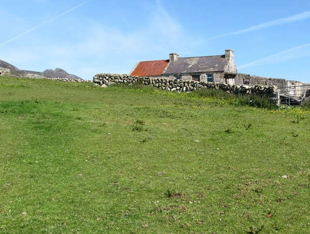 Pasturage and a traditional marginal land cottage