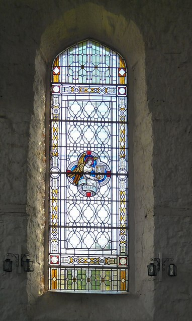 St George's stained glass: Mark