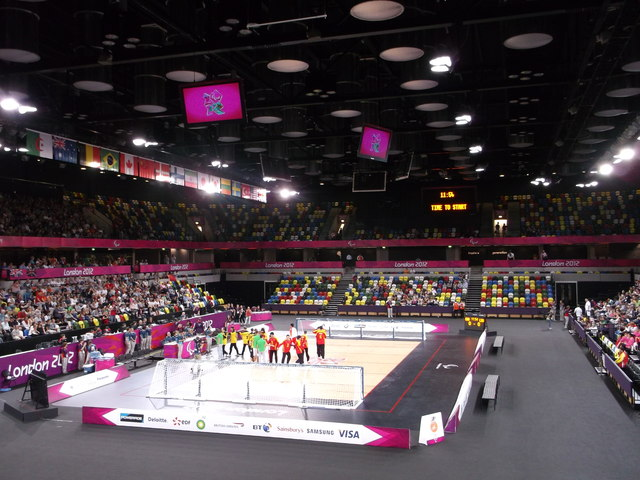 Inside the Copperbox, Olympic Park