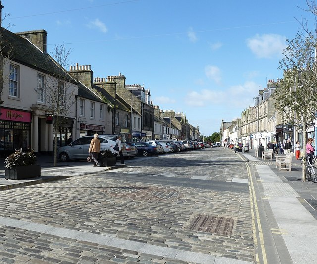 St Andrews - Market Street view westwards