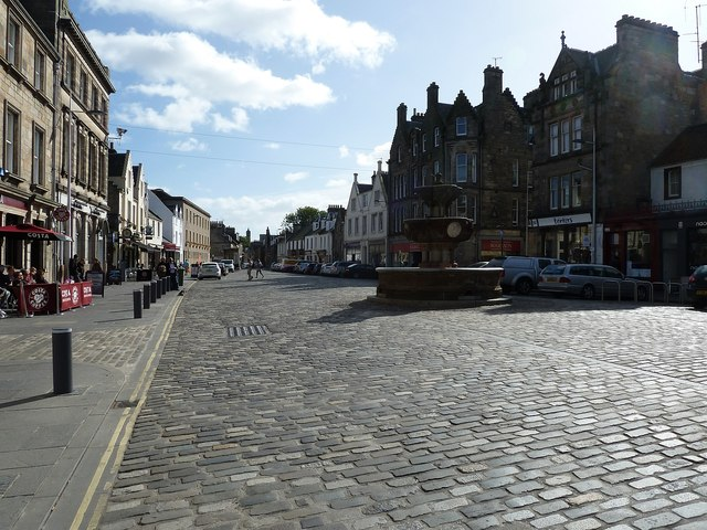 St Andrews - Market Street view eastwards