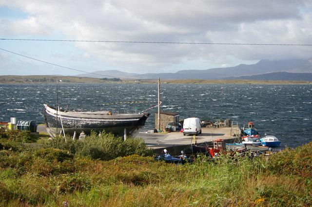 Pier near Glinsk