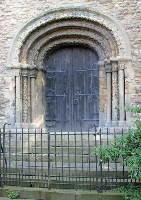 Church of St. Mary - West Door