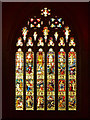SD7209 : West Window, Bolton Parish Church by David Dixon