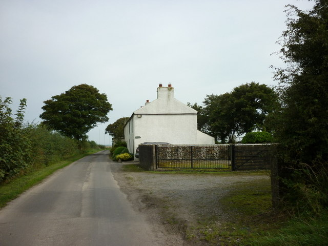 Cottages near East Border Farm