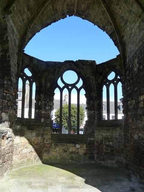 St Andrews - windows of Blackfriars' Chapel