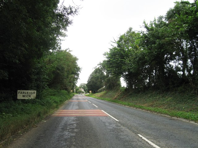 Entrance to Farleigh Wick