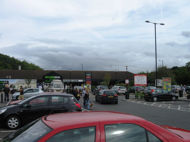 Michaelwood Services, southbound