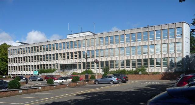 Council offices, Argents Mead, Hinckley