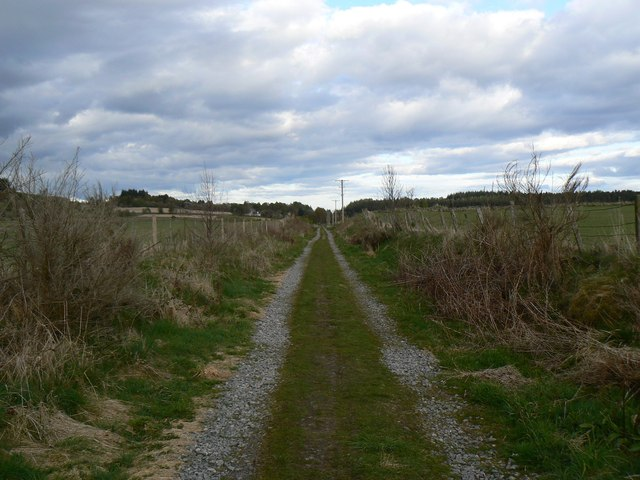 Dismantled railway line