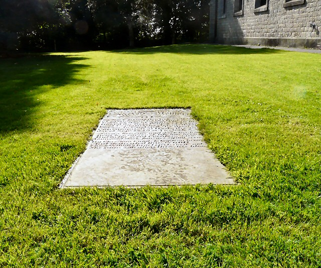 The grave of Fanny Bush