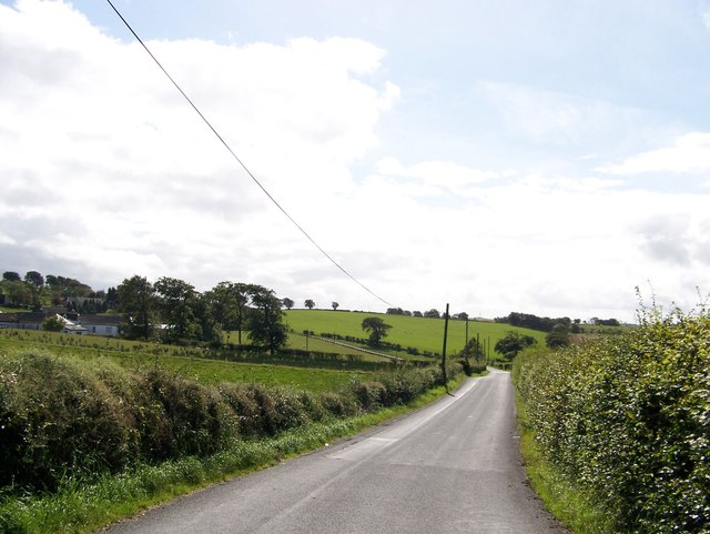 Unclassified road approaching West Drumloch Farm
