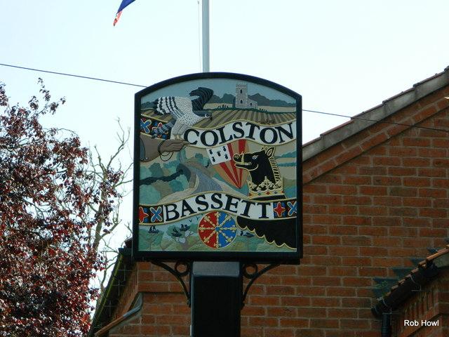 Colston Bassett Sign