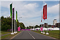 TQ4377 : Entrance to London 2012 shooting venue  by Ian Capper