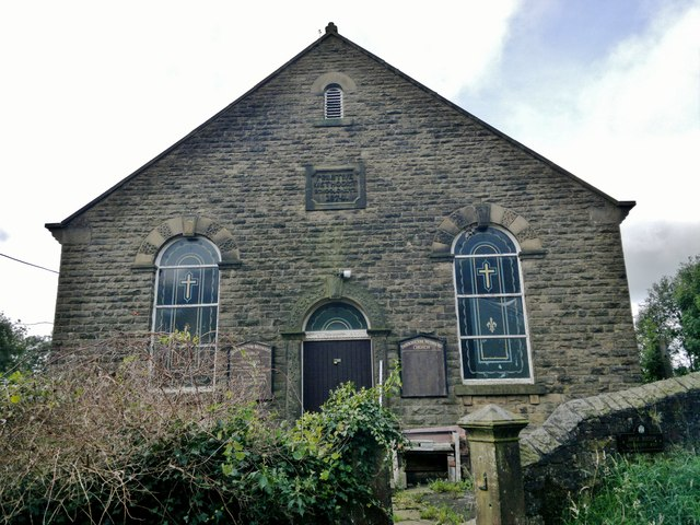 Primitive Methodist School and Chapel at Brook Bottom