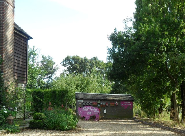 'Sussex Praries' gardens and Bed and Breakfast, Wineham