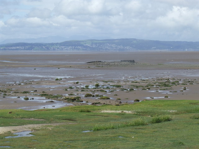 Morecambe Bay, view from Hest Bank