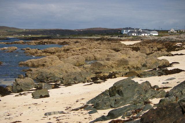 Beach at Mannin Bay